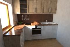kuchyn den varianta 2